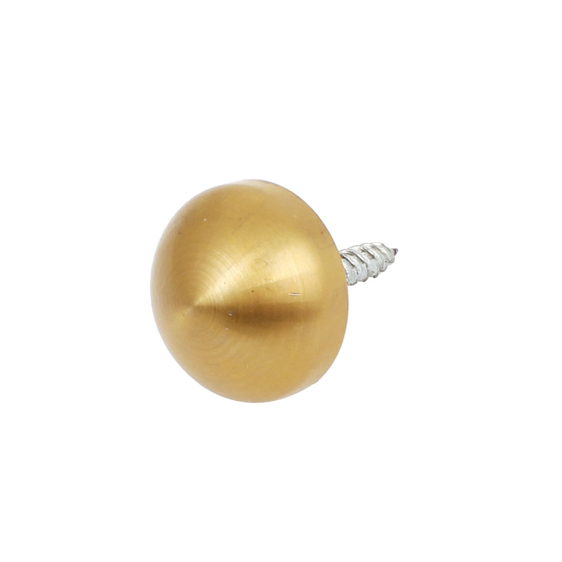 20mm Dia Cup Stainless Steel Hemispherical Decorative Mirror Nail Gold Tone