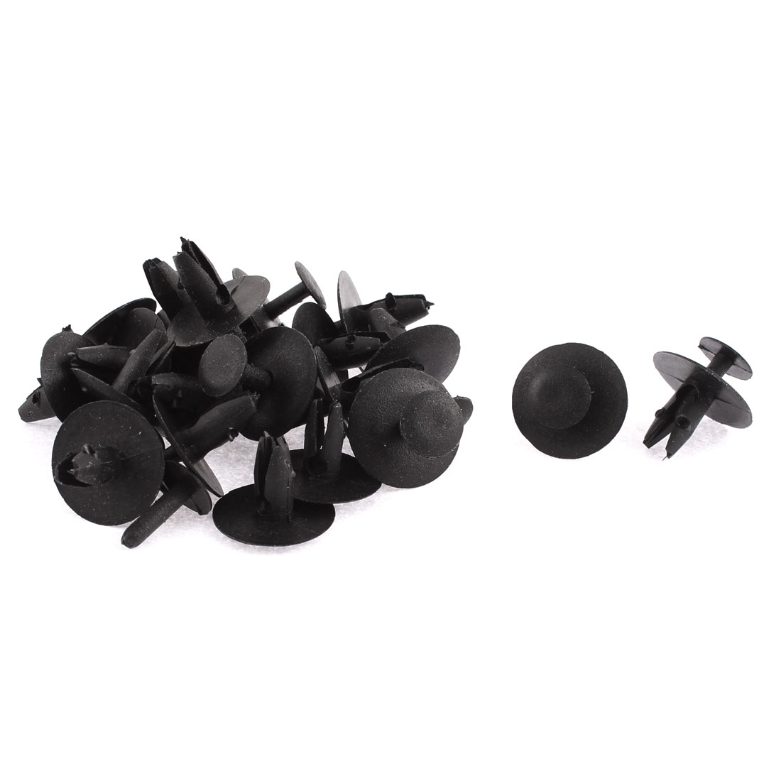 7mm x 6mm Hole Plastic Car Bumper Fender Push Clips Rivet Retainer 20pcs