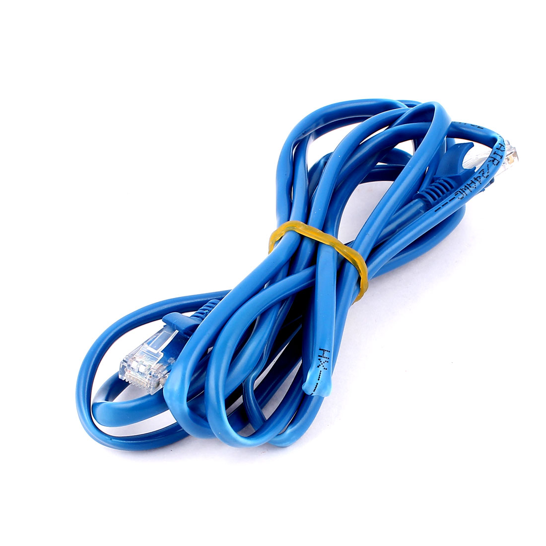 2.5M 8Ft Long CAT 5E RJ 45 8P8C Modular Ethernet Router Switch LAN Network Cable Blue