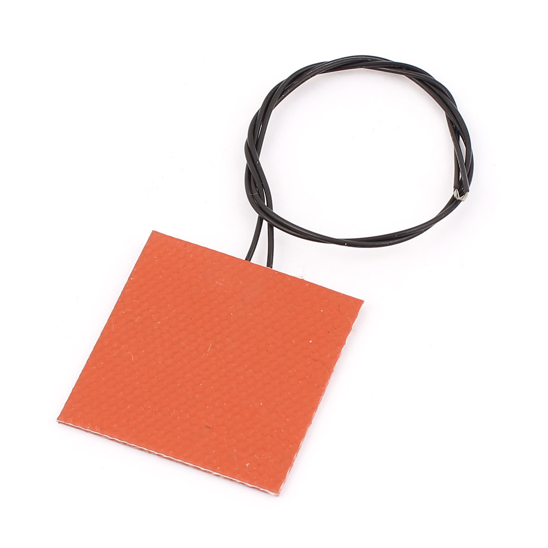 12V 5W Silicone Heating Plate 3D Printer Heater Flexible Rubber Heater 40x40mm