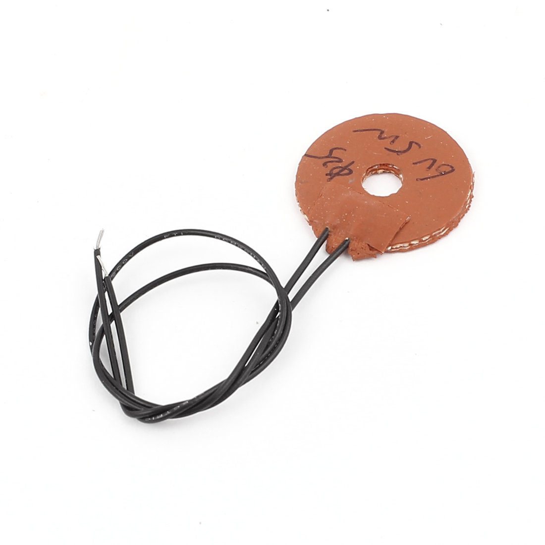 6V 5W 25mm Outer Dia Silicone Heating Plate Pad Flexible Rubber Heater