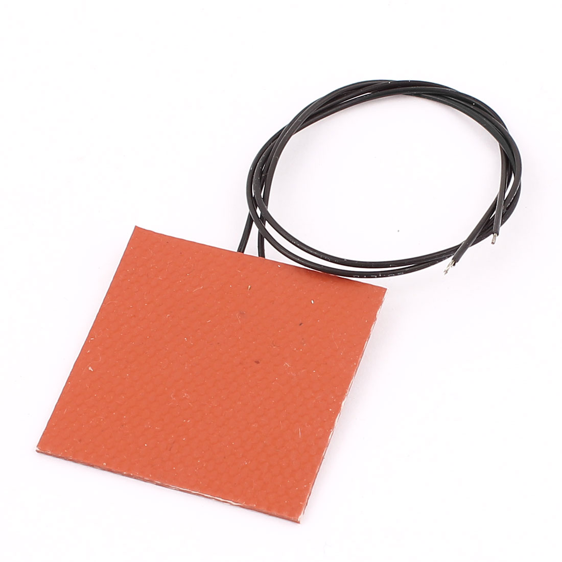 24V 20W Silicone Heating Plate 3D Printer Heater Flexible Rubber Heater 40x40mm