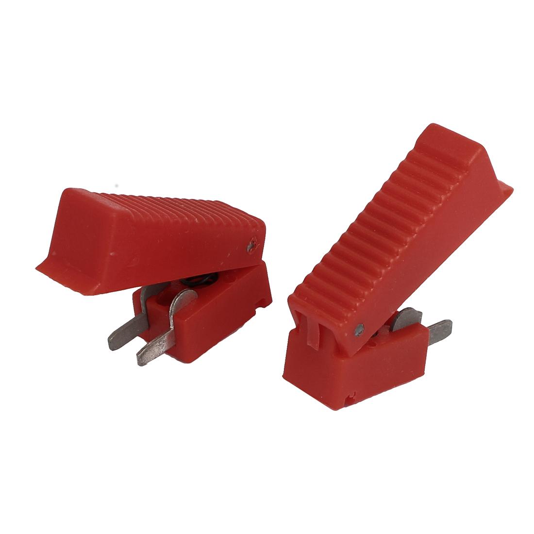37mm Long Red Shell CO2 Welding Gun Cutter Trigger Switch 2 Pcs
