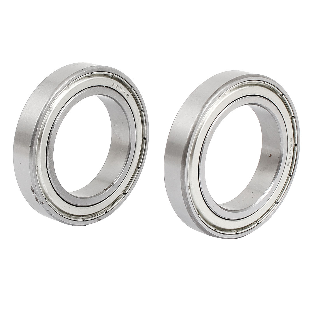 55mm x 35mm x 10mm 69072 Double Sealed Carbon Steel Upper Roller Bearing 2 Pcs
