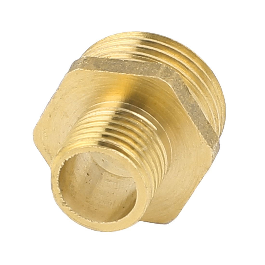 1/4BSP 1/2BSP Male Thread Dimeter Brass Hex Adapter Reducer Bushing