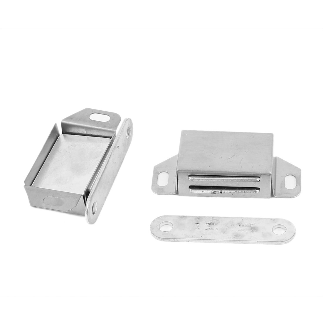 5.6cm Long Stainless Steel Single Magnetic Catch 2 Pcs for Cabinet Door
