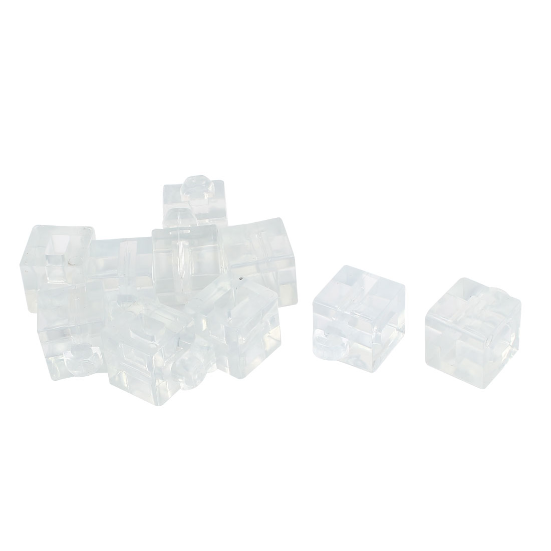 30 Series Aluminum Profile Spacer Fastener Block Connector Clear 10pcs