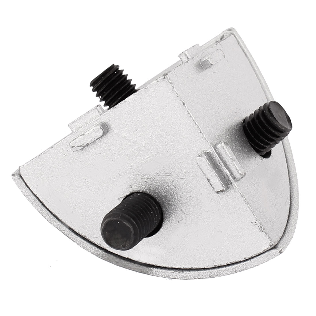 56mm x 40mm 3D Corner Bracket Silver Tone for R Series Profiles Connected
