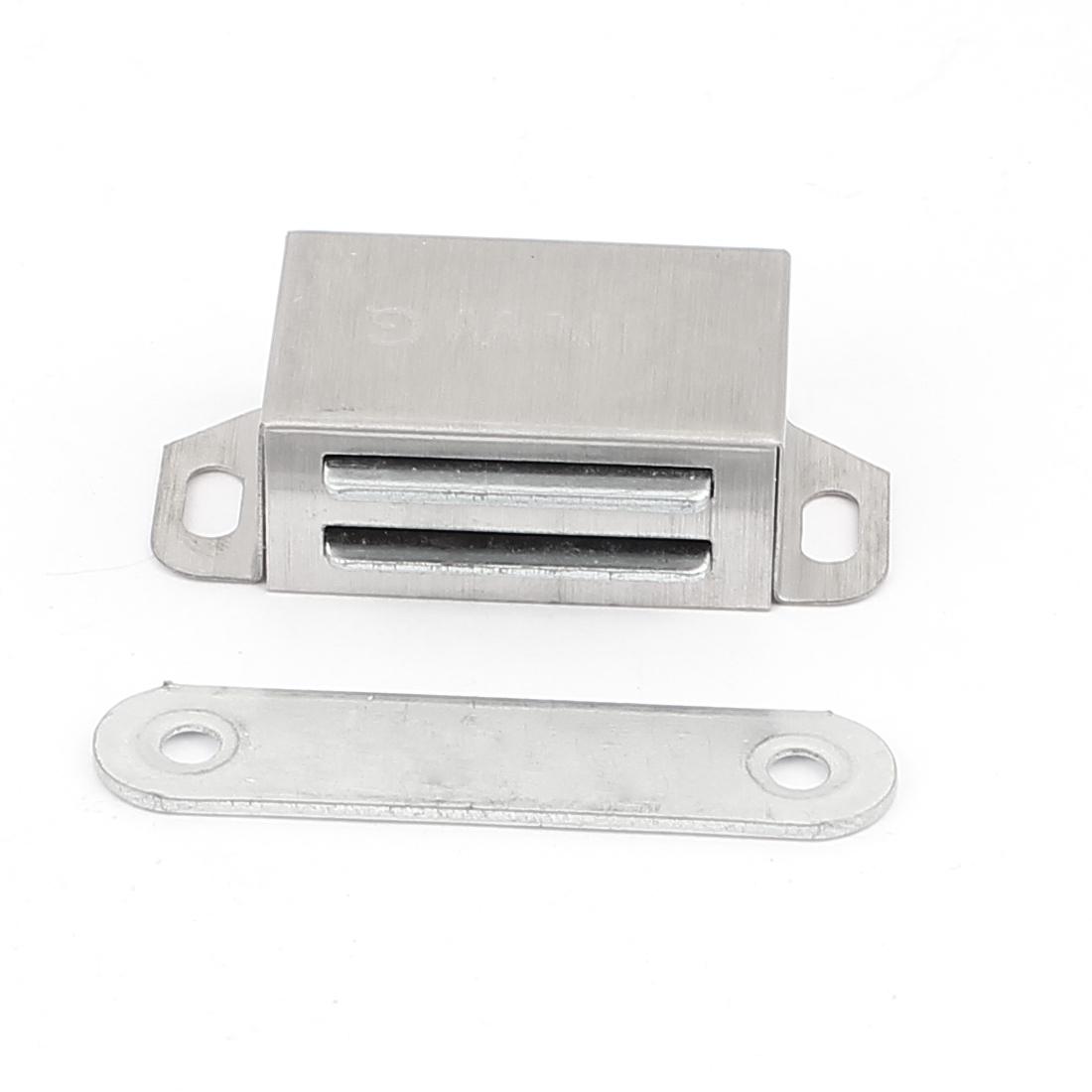 Bathroom Bedroom Kitchen Cupboard Doors Stainless Steel Magnetic Catch 53mm Long