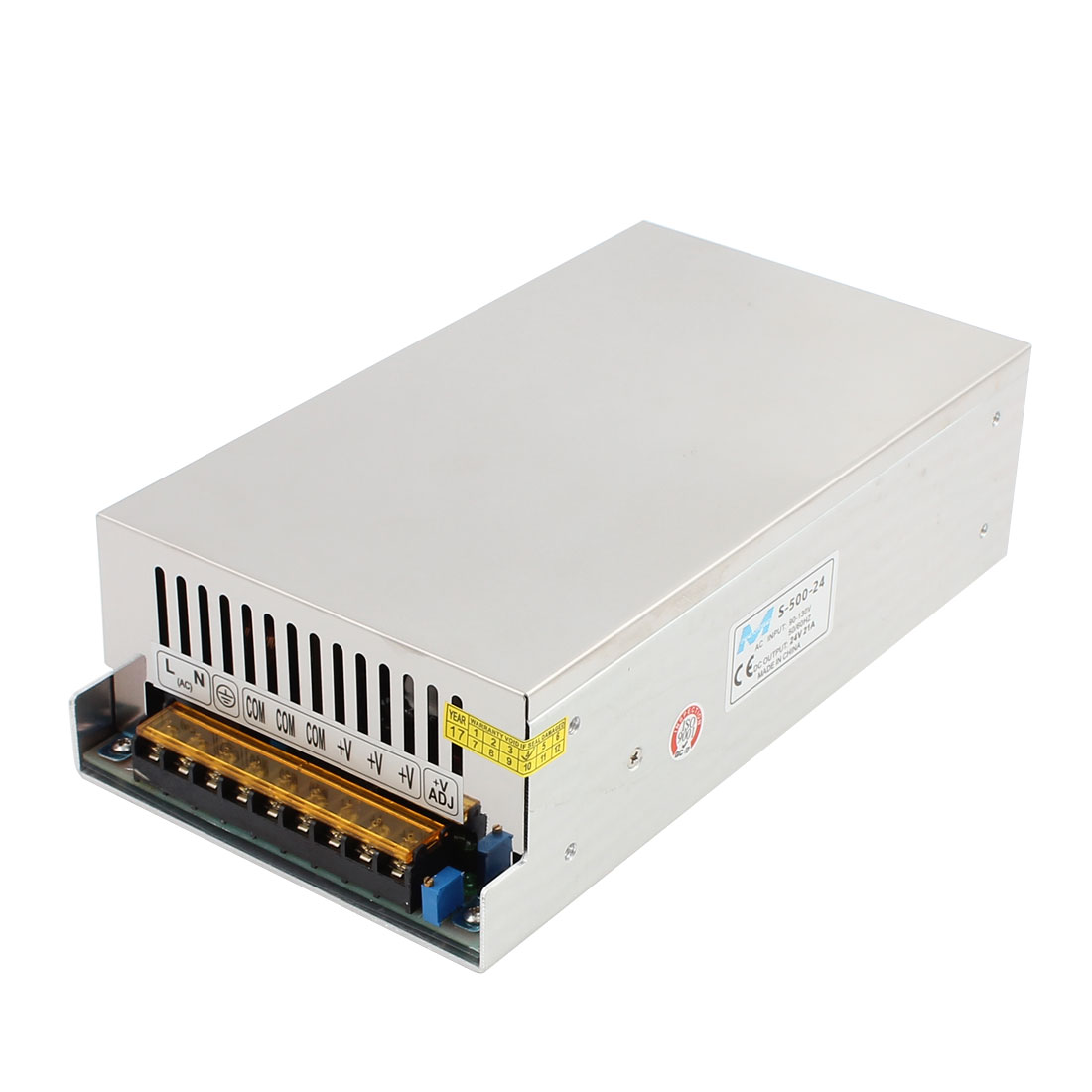 AC 110V/220V to DC 24V 25A 600W Switch Power Supply Driver S-600-24 for LED Strip Light