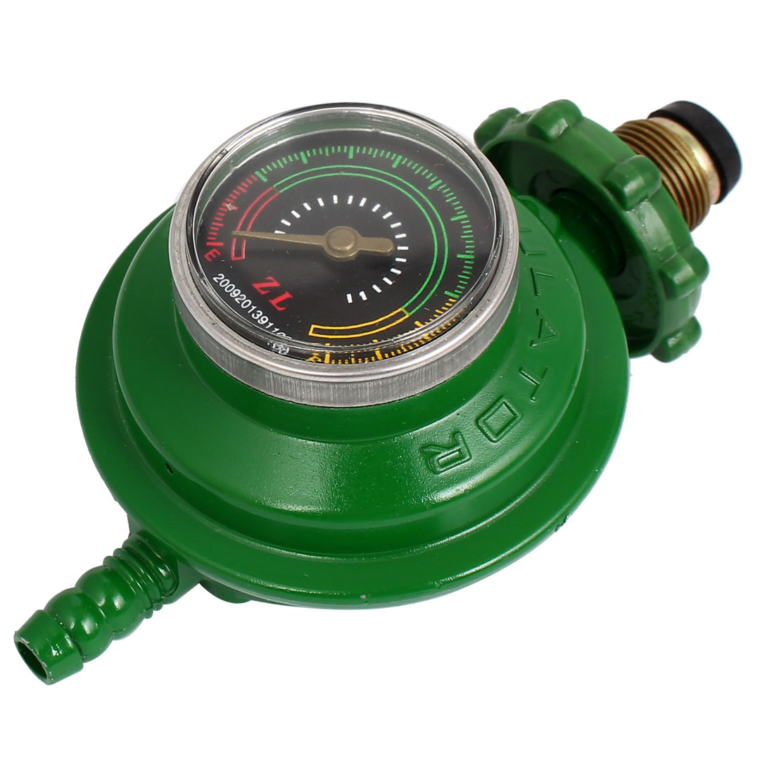 Bottled Liquefied Petroleum Gas Tank Pressure Valve Regulator Green