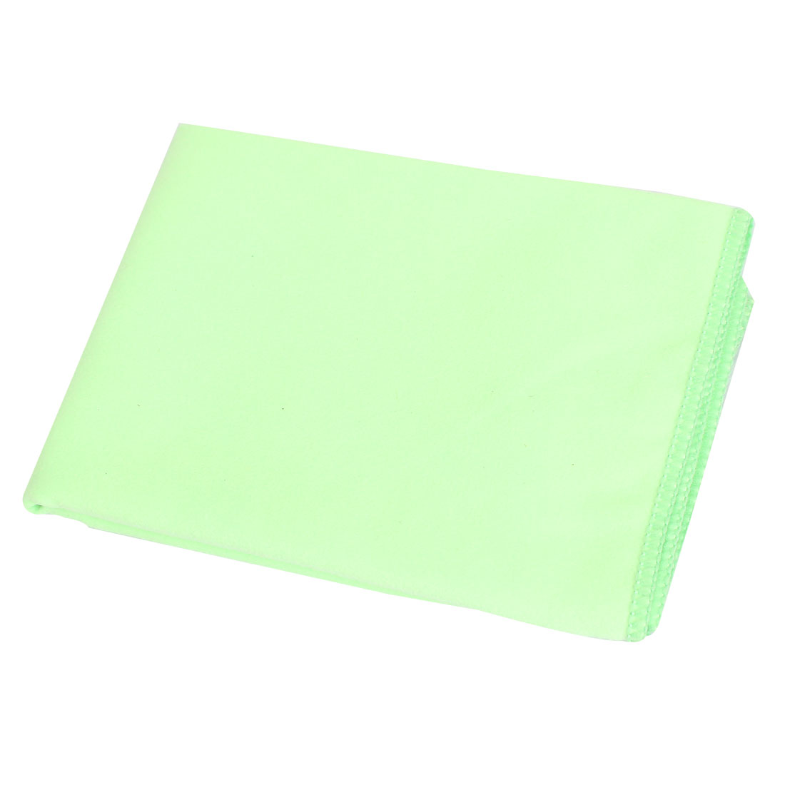 Microfiber Window Glass Mirror Car Windscreen Cleaning Polish Cloth Towel Green