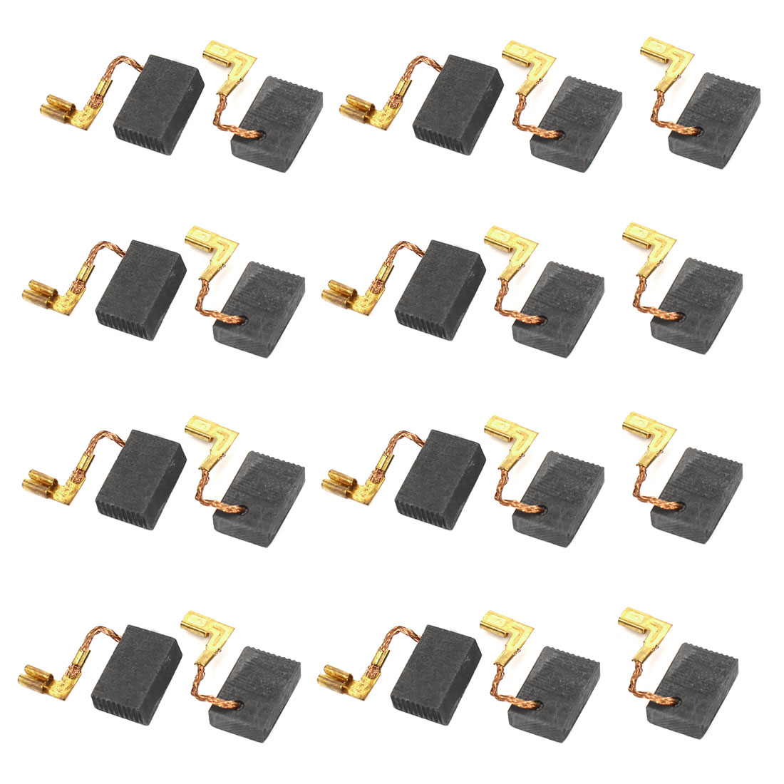 17mm x 11mm x 5mm Electric Drill Motor Rotary Power Tool Carbon Brush 10 Pairs