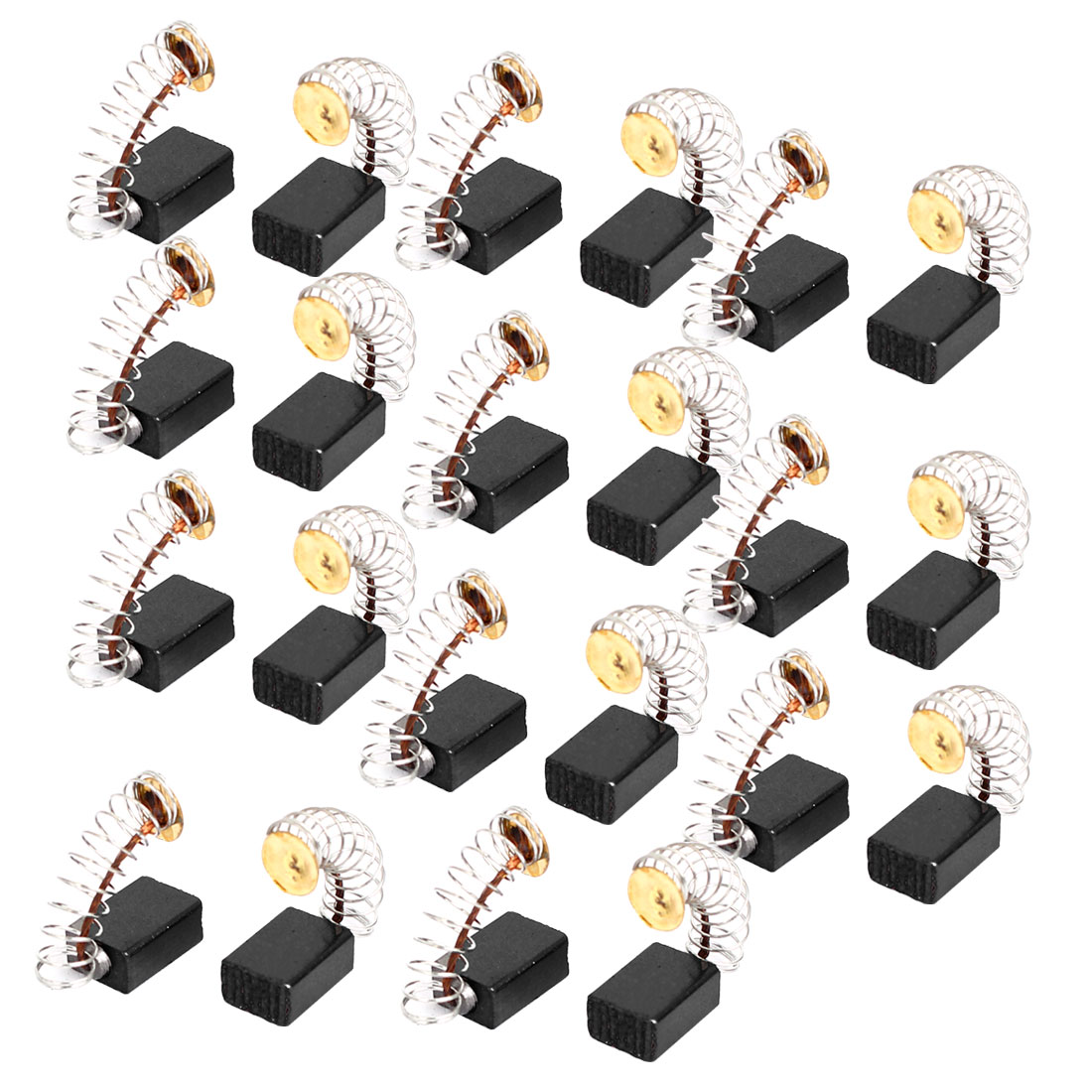 12mm x 8mm x 5mm Electric Drill Motor Rotary Power Tool Carbon Brushes 10 Pairs