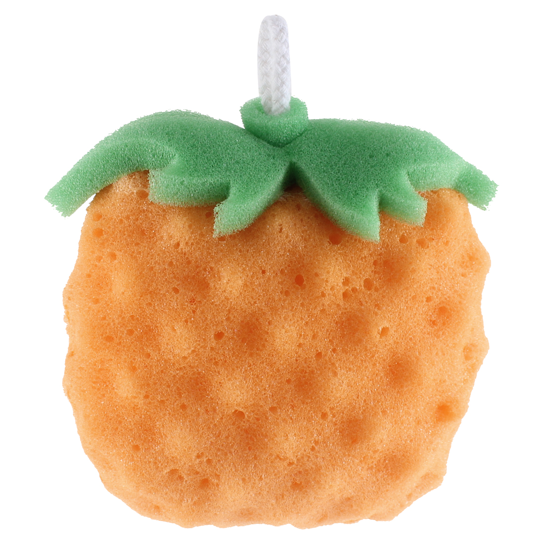 Fruit Shape Orange Green Bath Shower Body Cleaning Sponge Scrubber