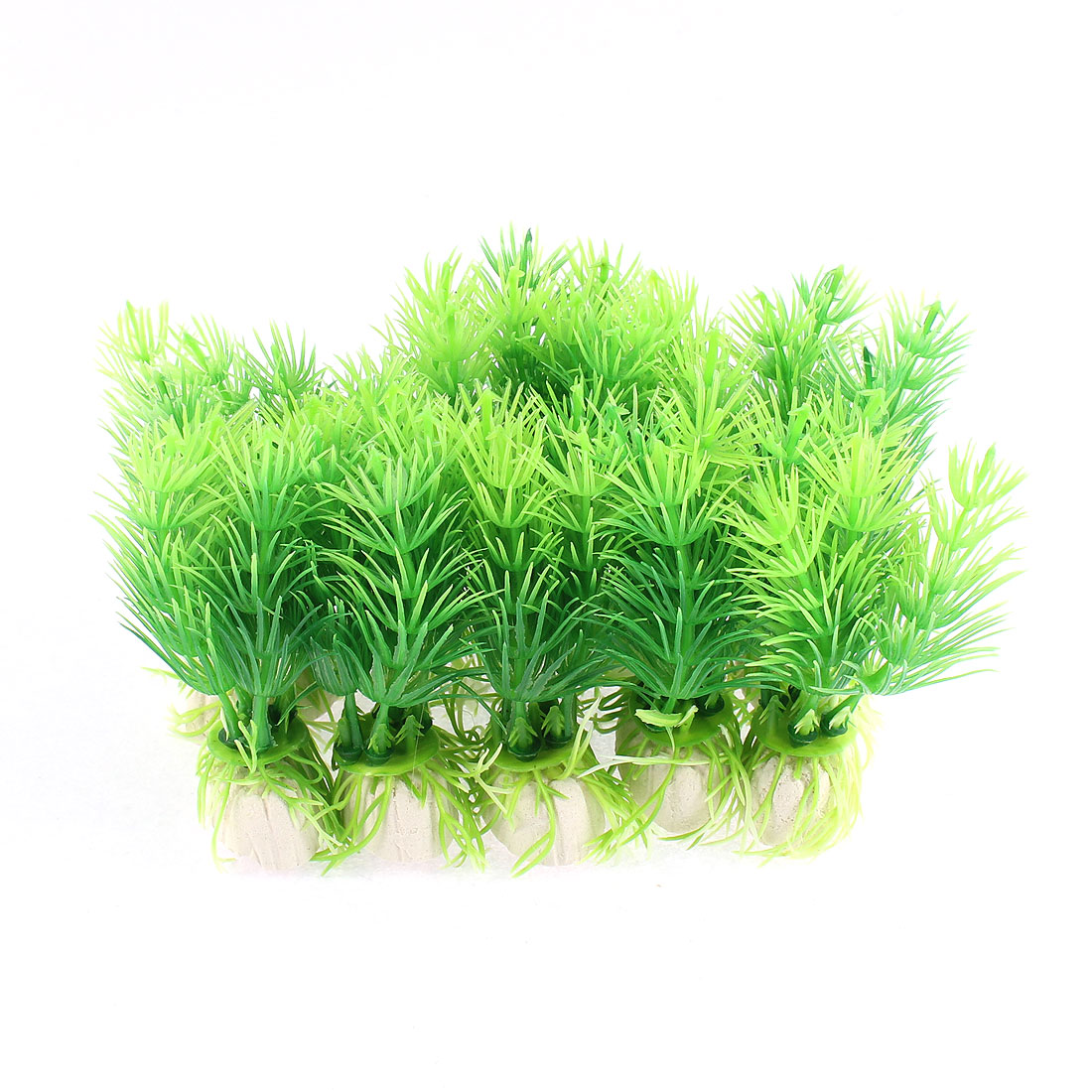 Aquarium Tank Green Artificial Plastic Grass Plant Decor Landscape 10pcs