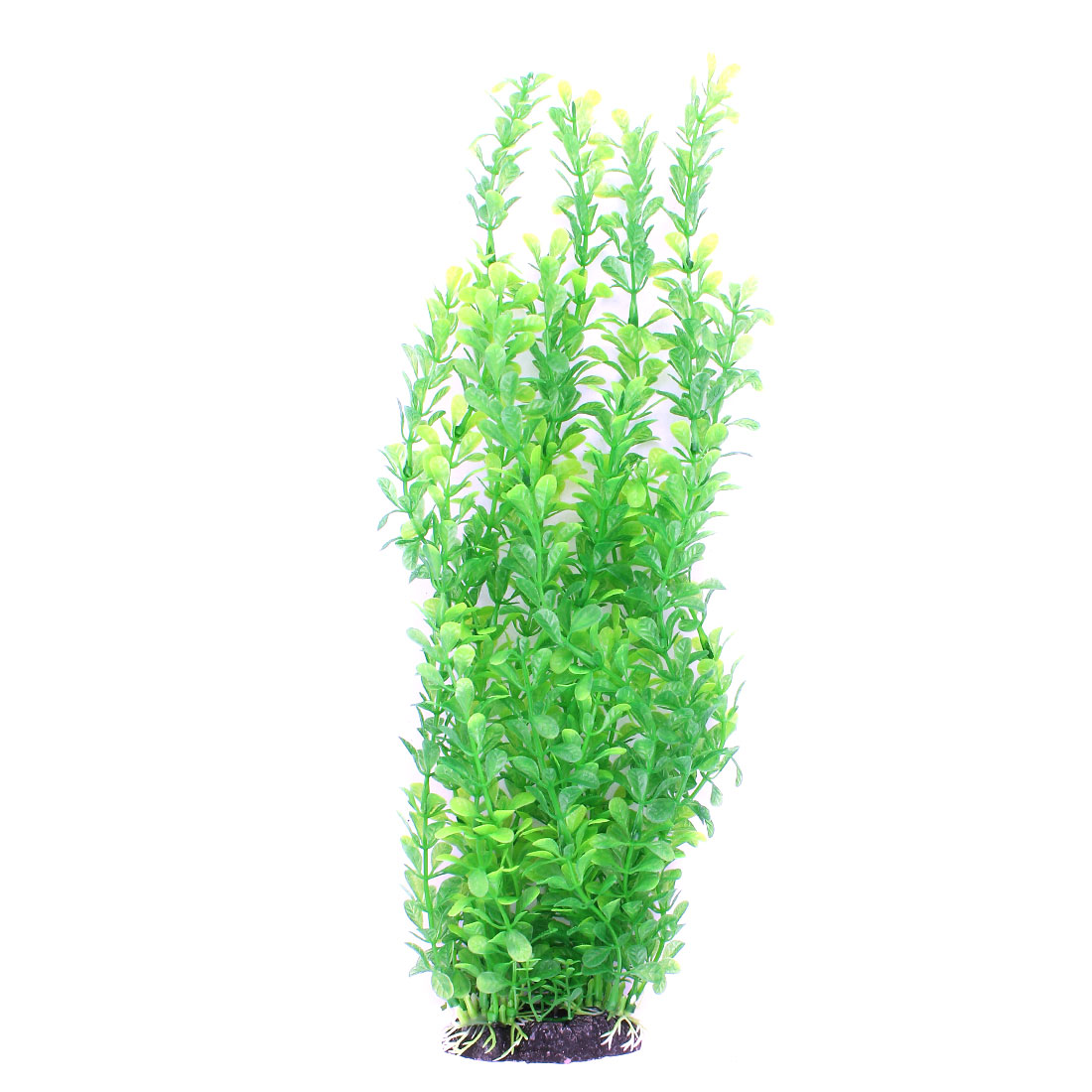 "41cm 16"" Long Green Plastic Artifical Aquarium Plant Underwater Grass Oranment for Fish Tank Fishbowl"