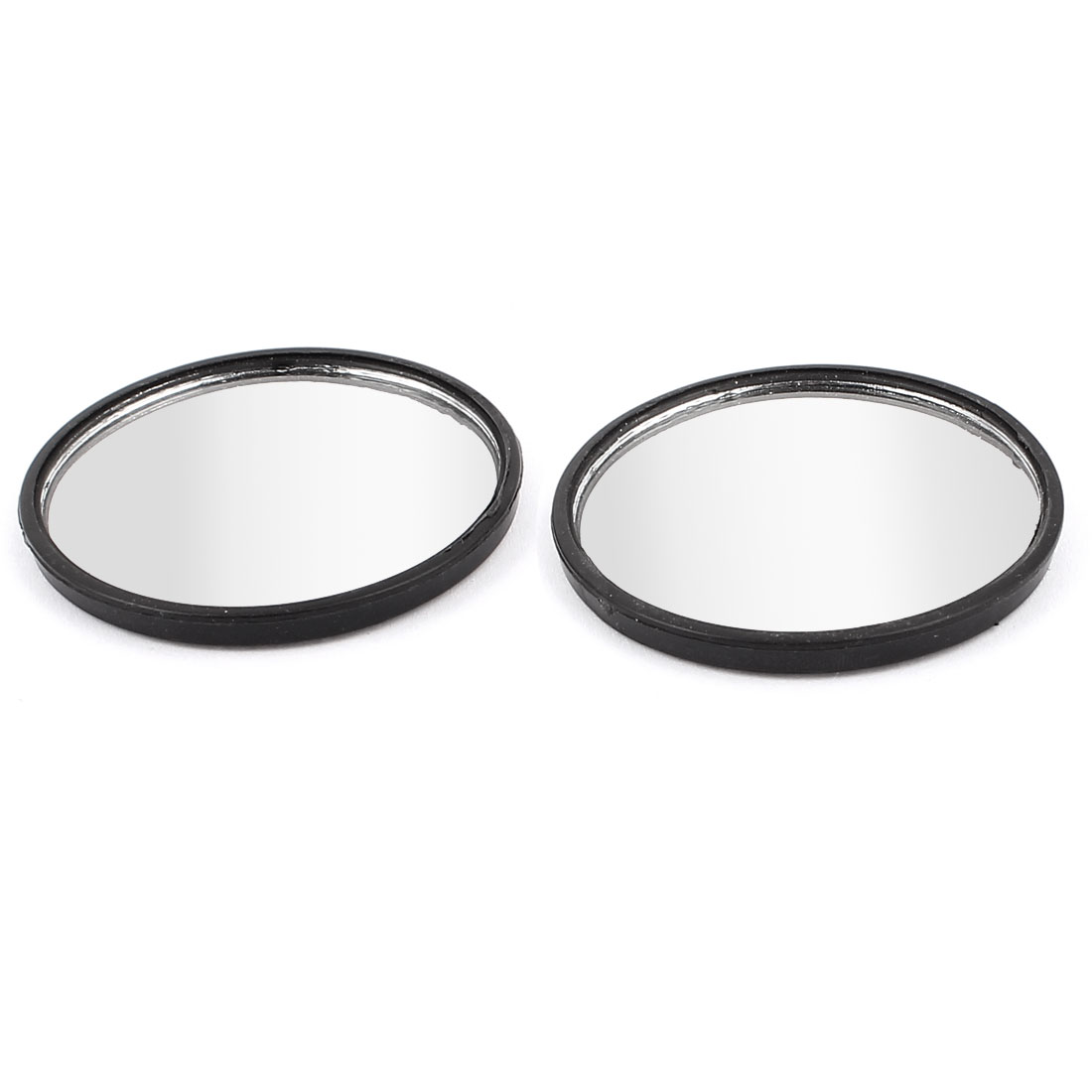 2pcs Plastic Shell Self Adhesive Base Blind Spot Rear View Rearview Mirror for Car Truck
