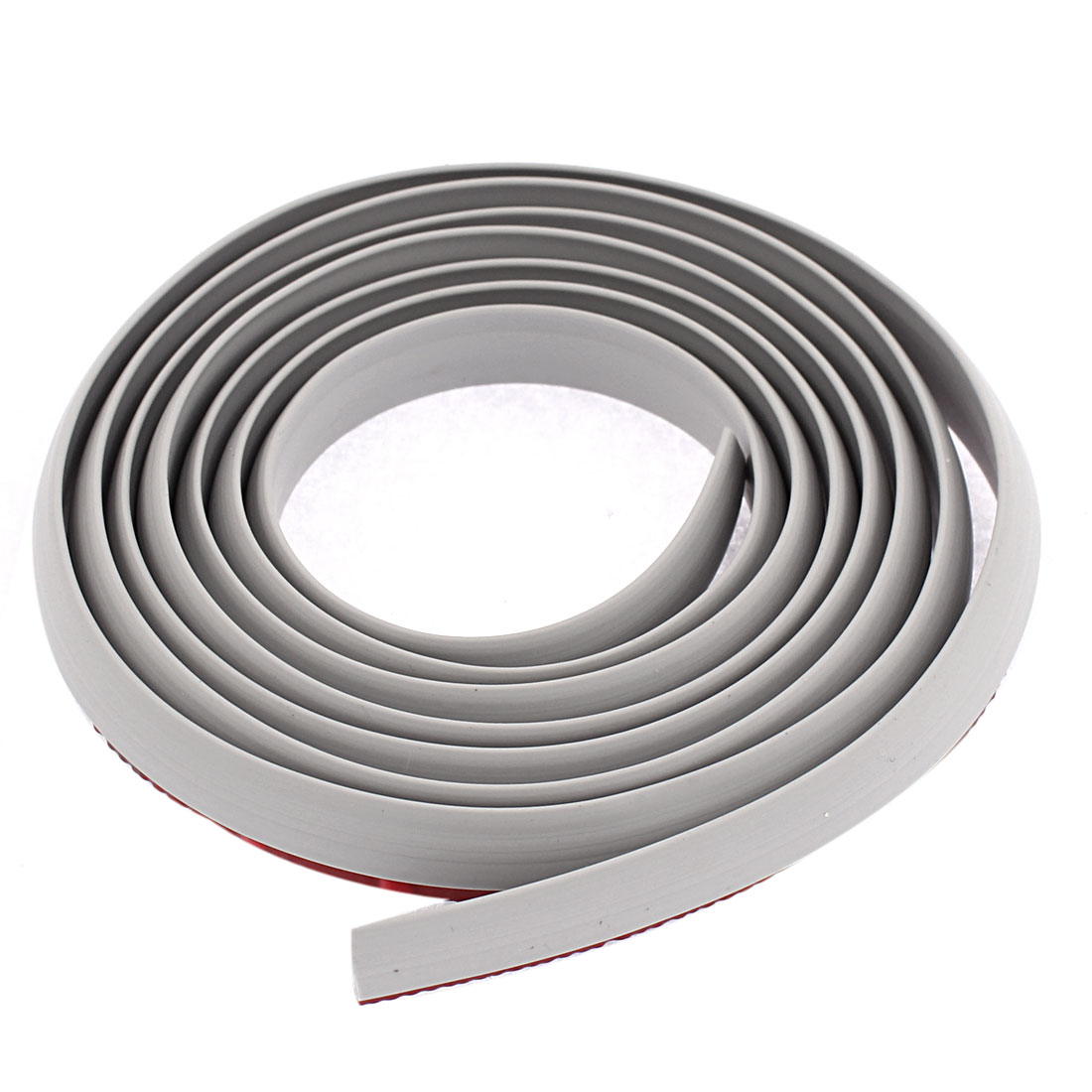 Car Truck DIY Rubber Seal Edge Trim Channel Strip Gray 5.6Ft