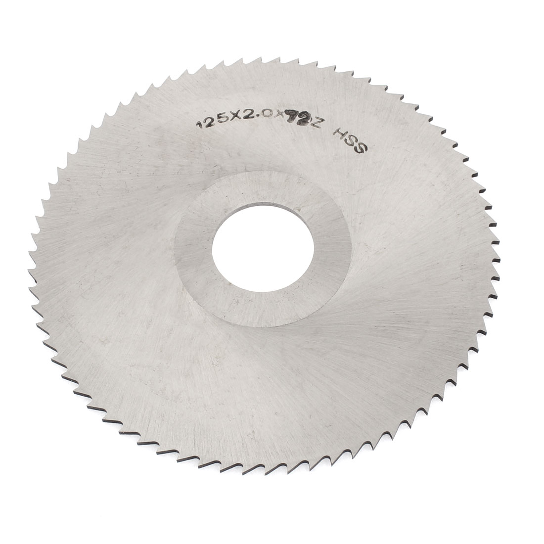125mm Outside Dia 72 Teeth HSS Slitting Saw Cutter Cutting Tool