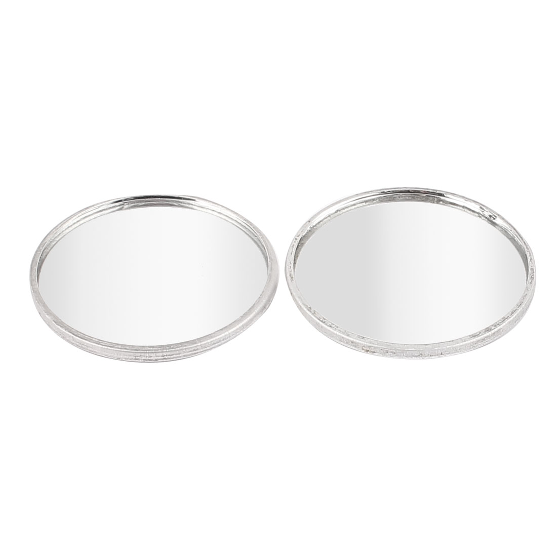 Car Vehicle 40mm Dia Round Self Adhesive Wide Angle Rearview Blind Spot Mirror Rearmirror 2pcs