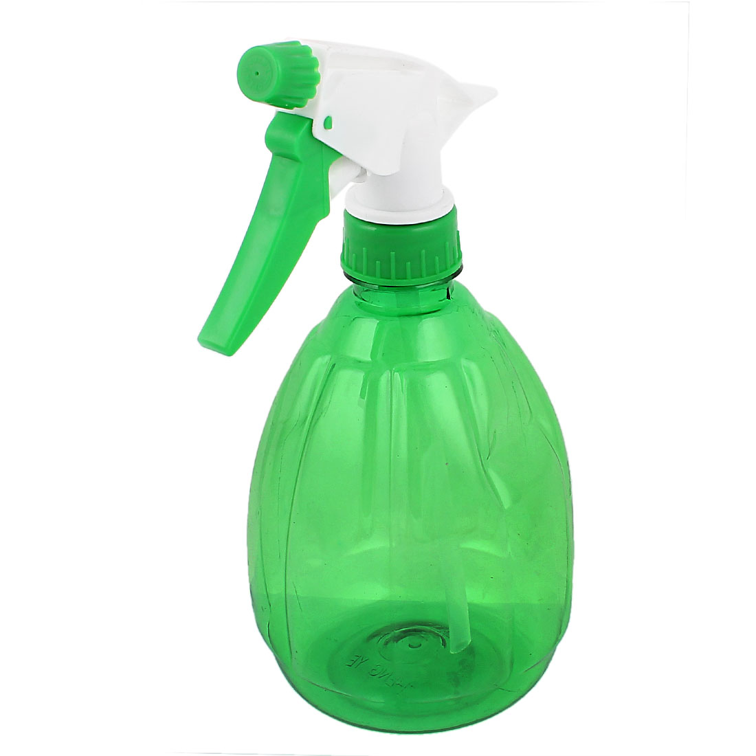Clear Green Plastic Nozzle Head Makeup Water Sprayer Spray Bottle Hair Salon Tool 530ml