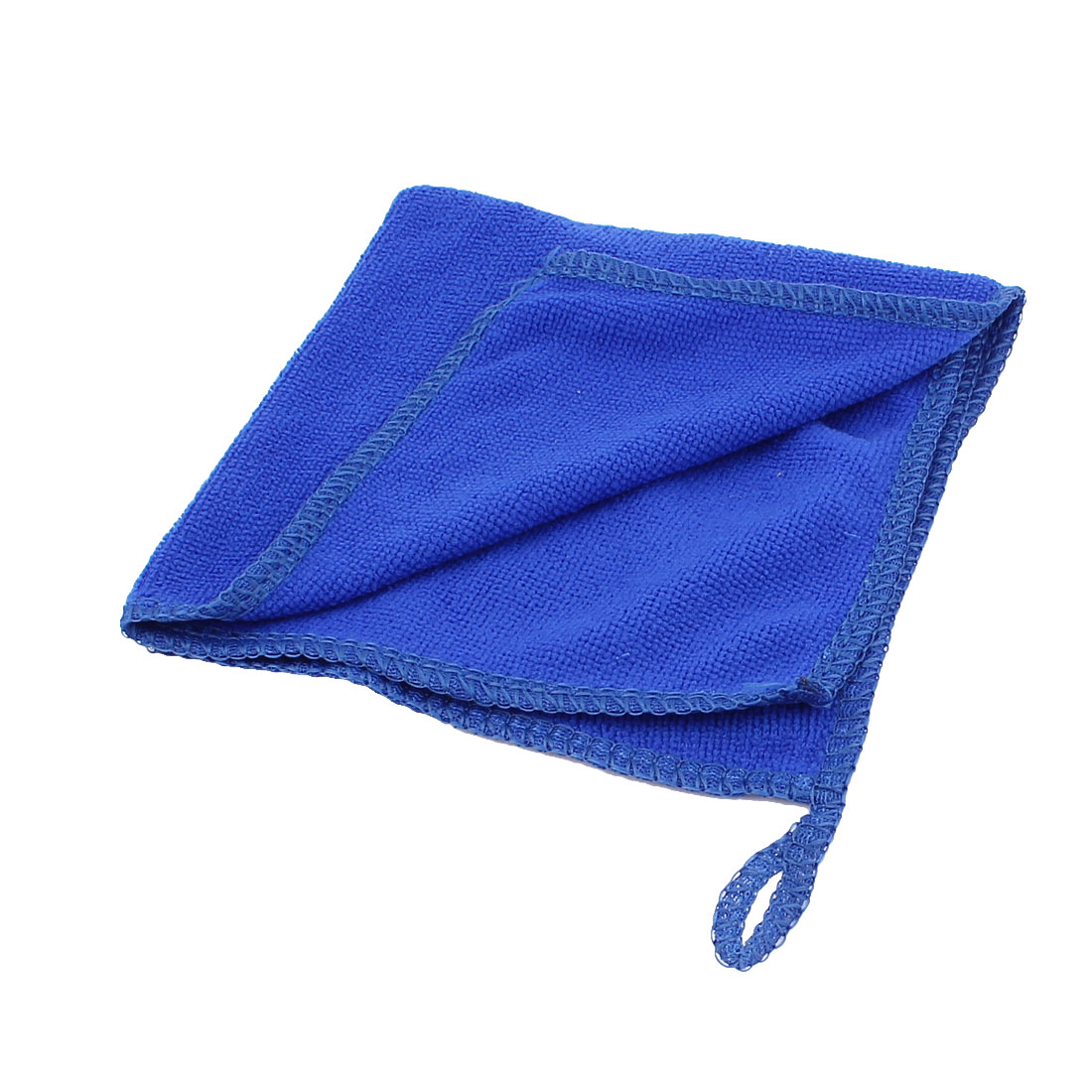 2pcs 28cmx28cm Blue Microfiber Water Absorbent Car Cleaning Drying Towels Wash Clean Cloth