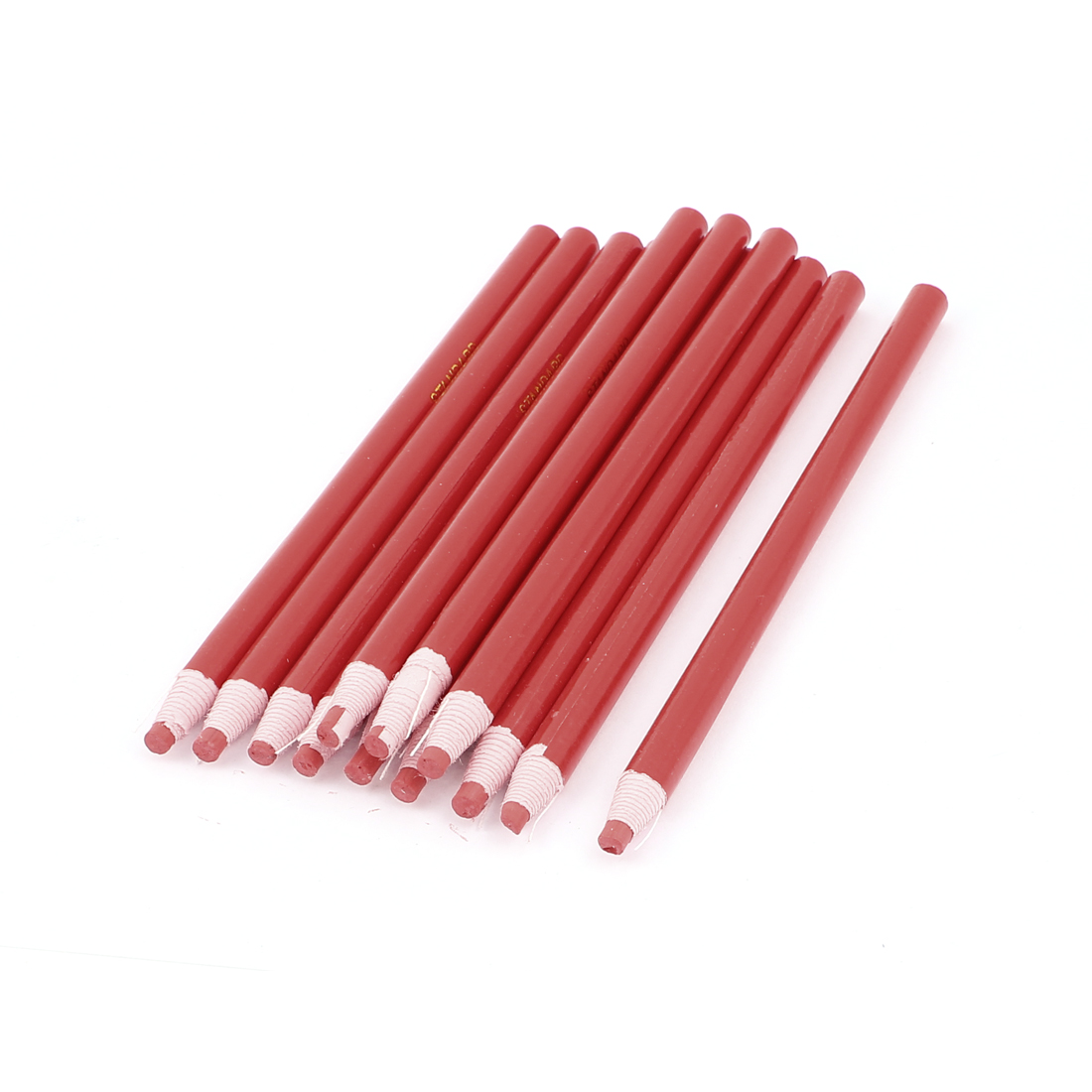 12pcs Red Paper Coated Craft Drawing Art Painting Oil Pastel Crayon