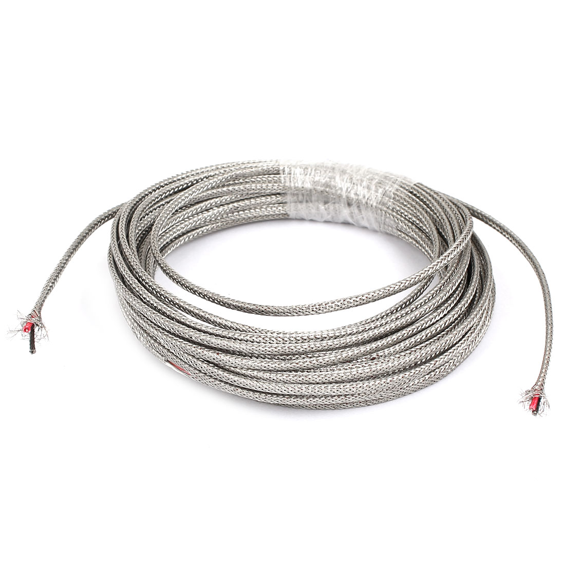 8 Meter Silver Tone Metal K Type Thermocouple Extension Wire