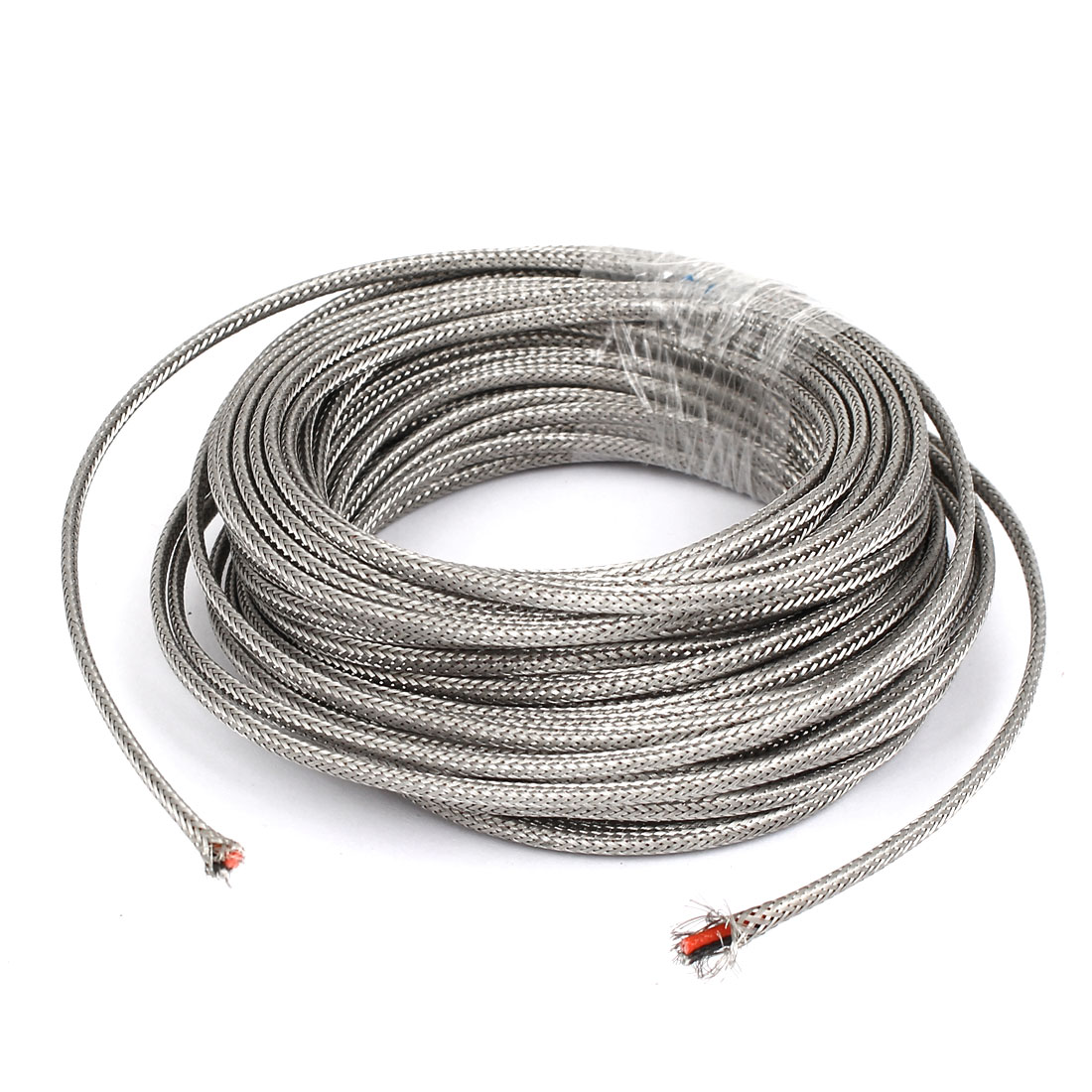 12 Meter Silver Tone Metal K Type Thermocouple Extension Wire