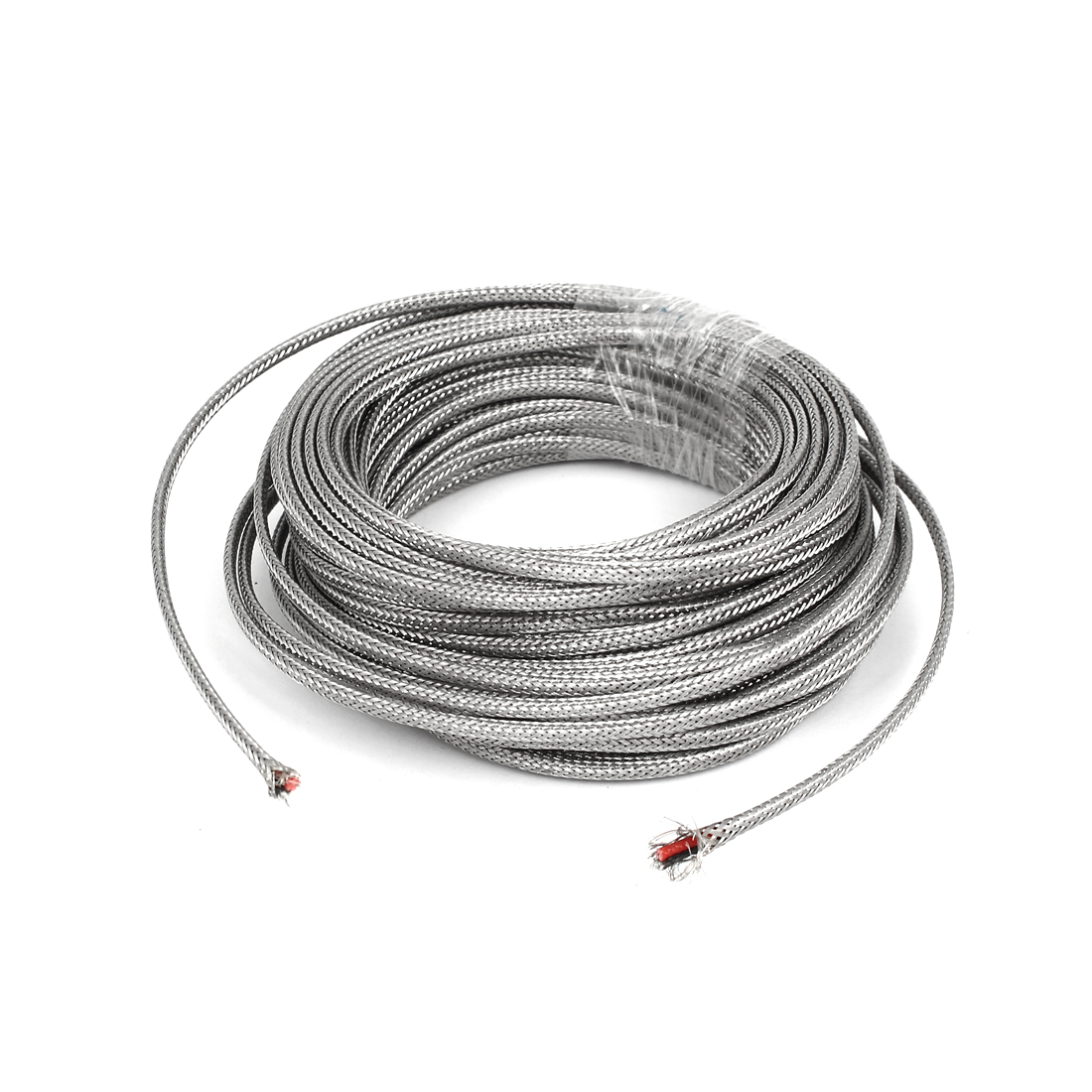 16 Meter Silver Tone Metal K Type Thermocouple Extension Wire