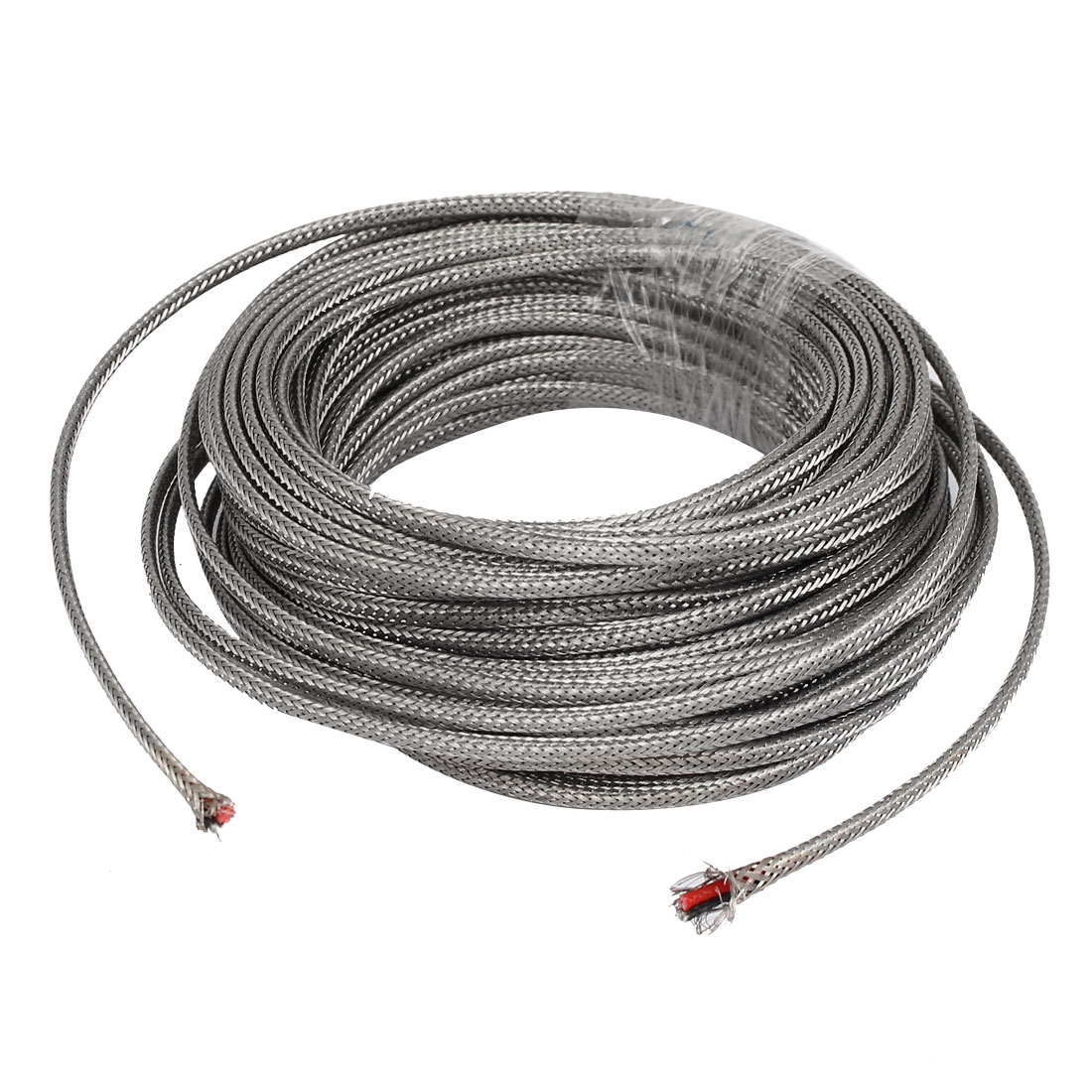18 Meter Silver Tone Metal K Type Thermocouple Extension Wire