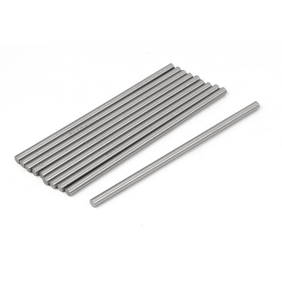 4mm x 100mm HSS Machine Boring Tool Solid Round Lathe Bar 10pcs