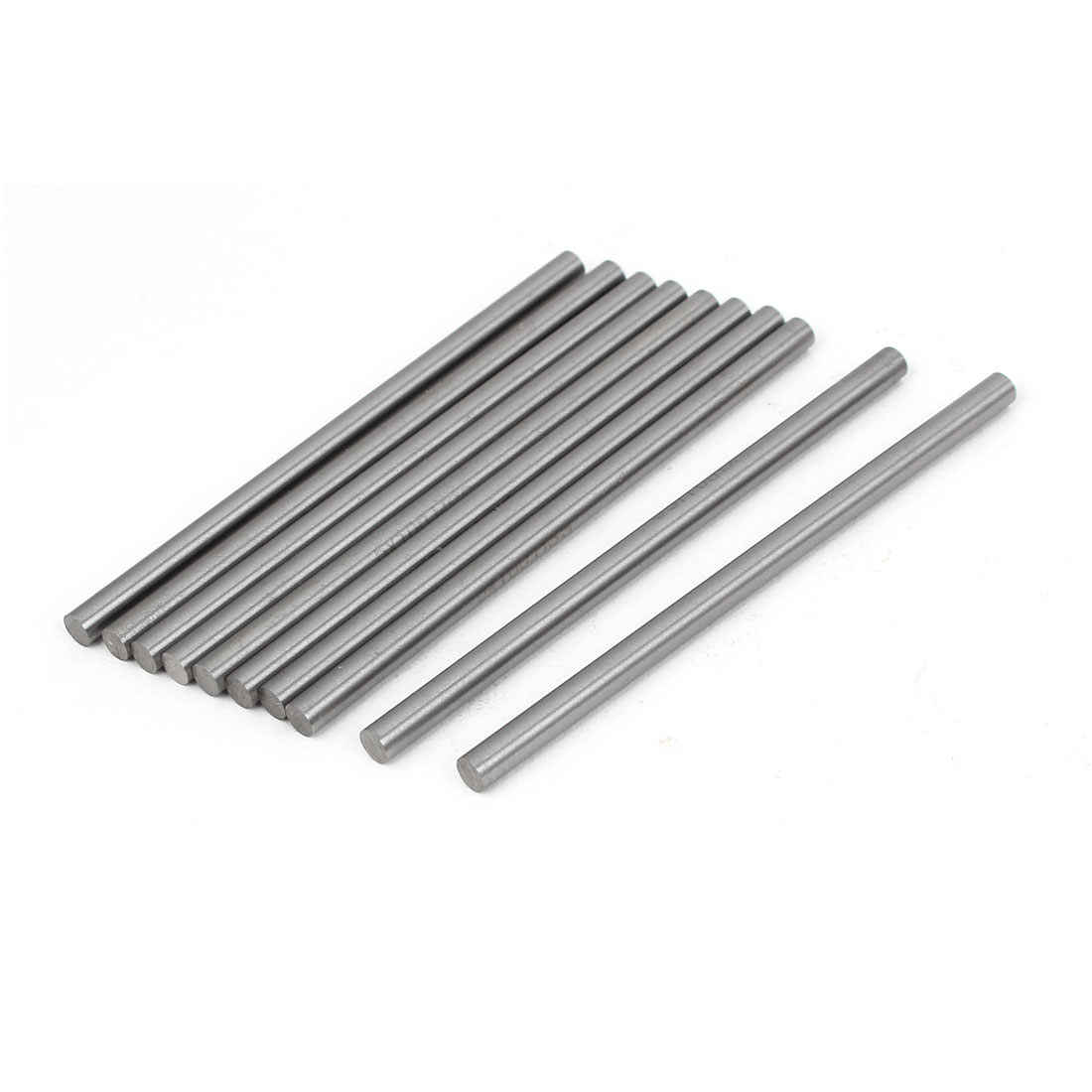 5mm x 100mm High Speed Steel Lathe Tool Round Stick Drill Rod Bar 10pcs