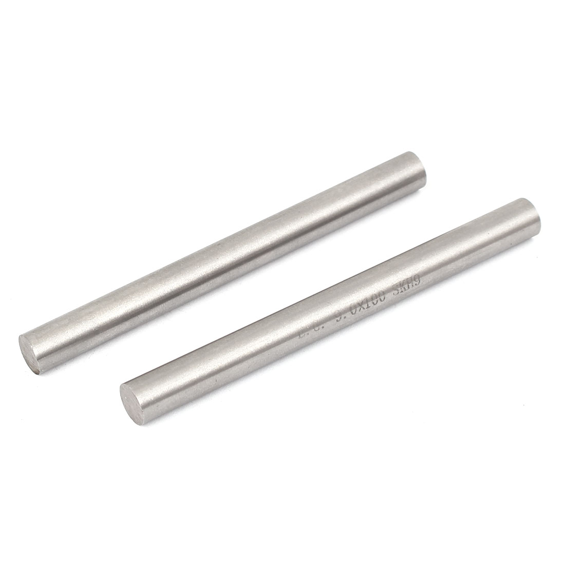 9mm x 100mm Metal Machine Turning Tools Rod Bar Lathe Round Stick 2pcs