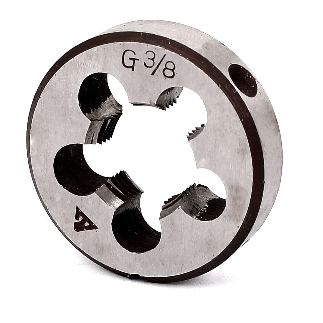 """3/8BSP Thread 38mm 1.5"""" Outer Diameter Round Threading Die"""