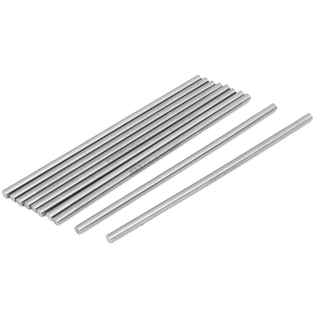 3.2mm x 100mm HSS Straight Machine Turning Tool Round Lathe Bar Rod Stick 10pcs