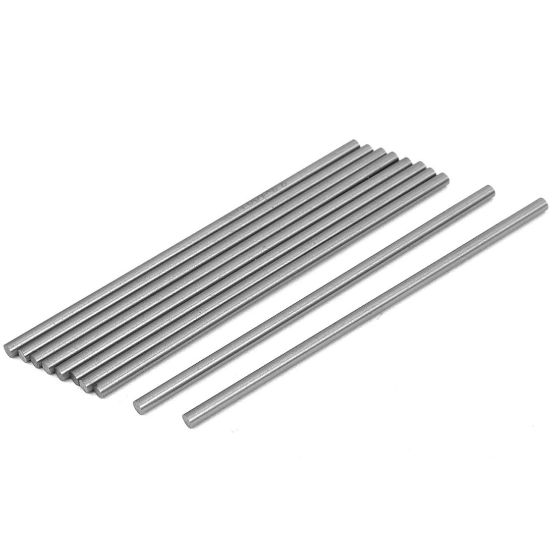 3.3mm x 100mm HSS Straight Machine Turning Tool Round Lathe Bar Rod Stick 10pcs