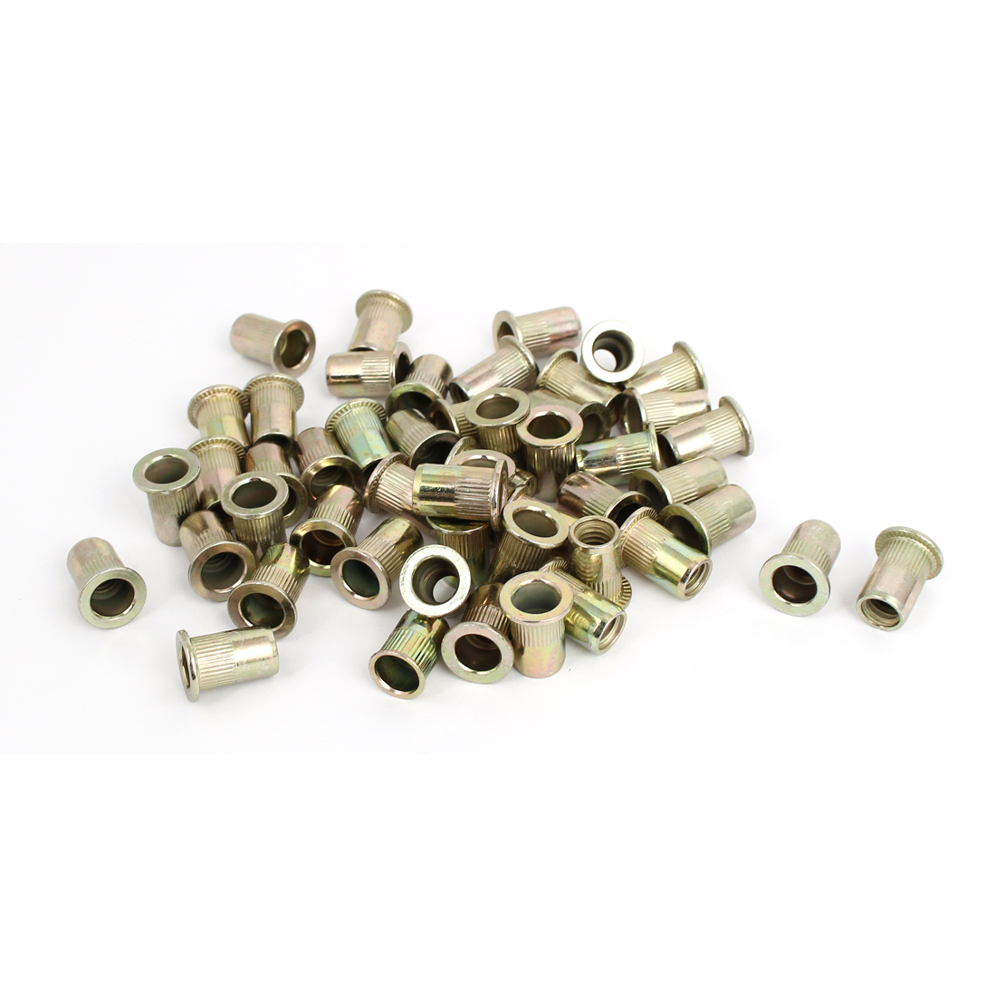 "5/16"" Thread 18mm Long Rivet Nut Insert Nutsert 50pcs"