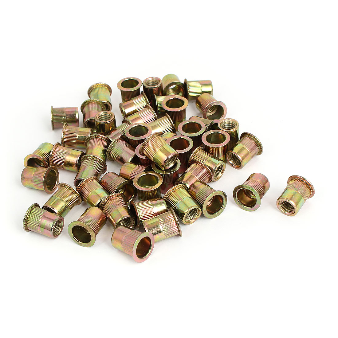 "3/8"" Thread 18mm Long Rivet Nut Insert Nutsert 50pcs"