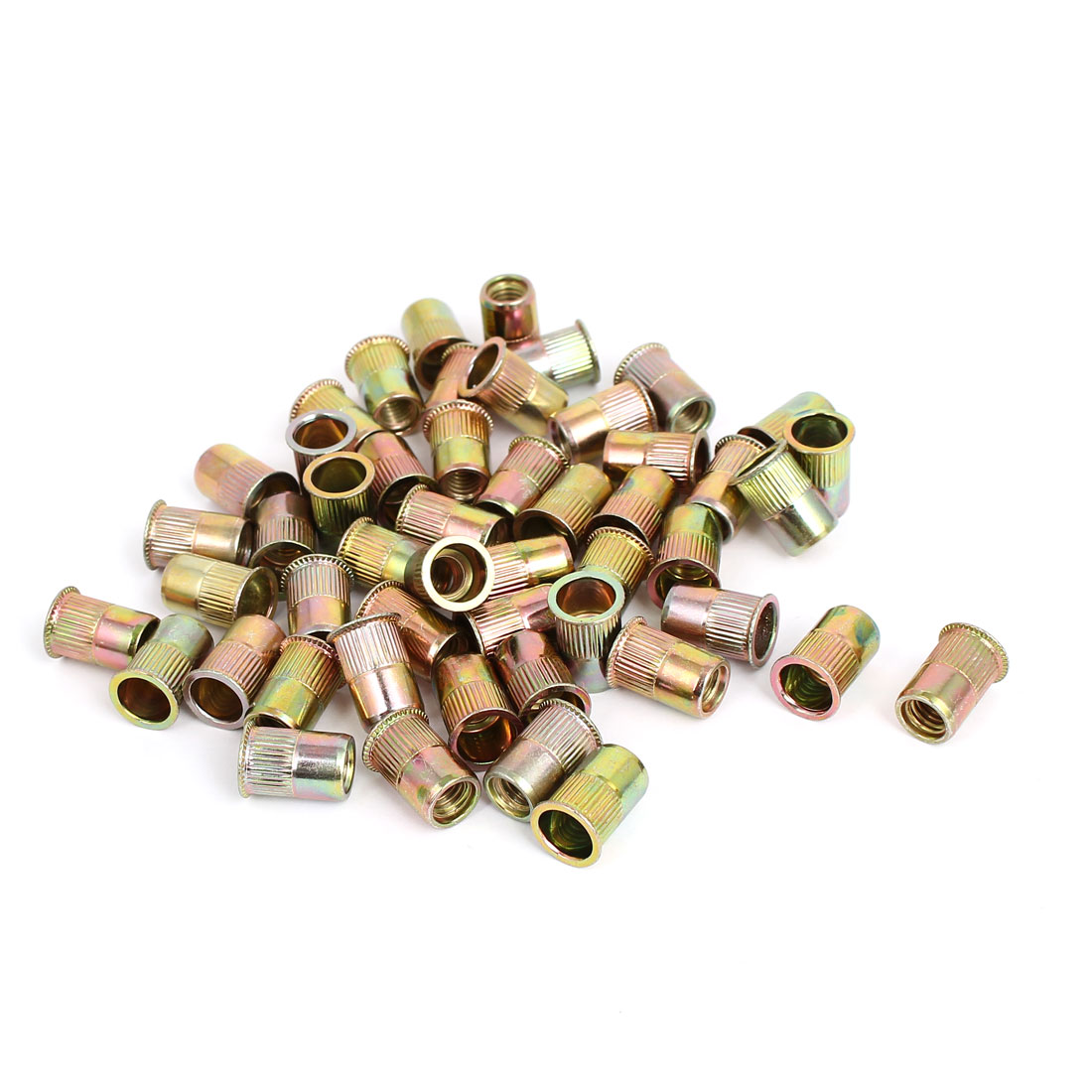 M6 Thread 14mm Long Rivet Nut Insert Nutsert 100pcs