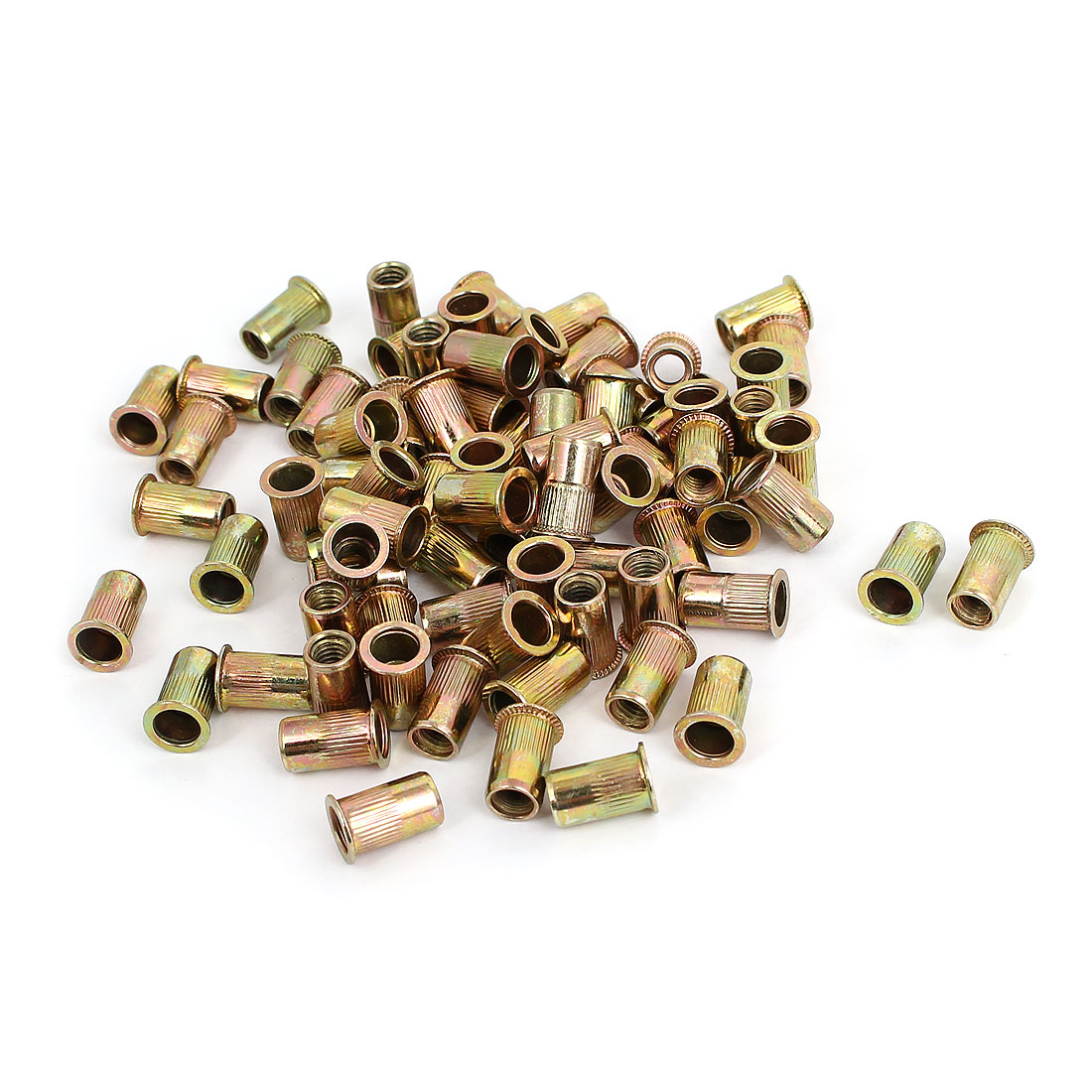 M5 Thread 12mm Long Rivet Nut Insert Nutsert 100pcs