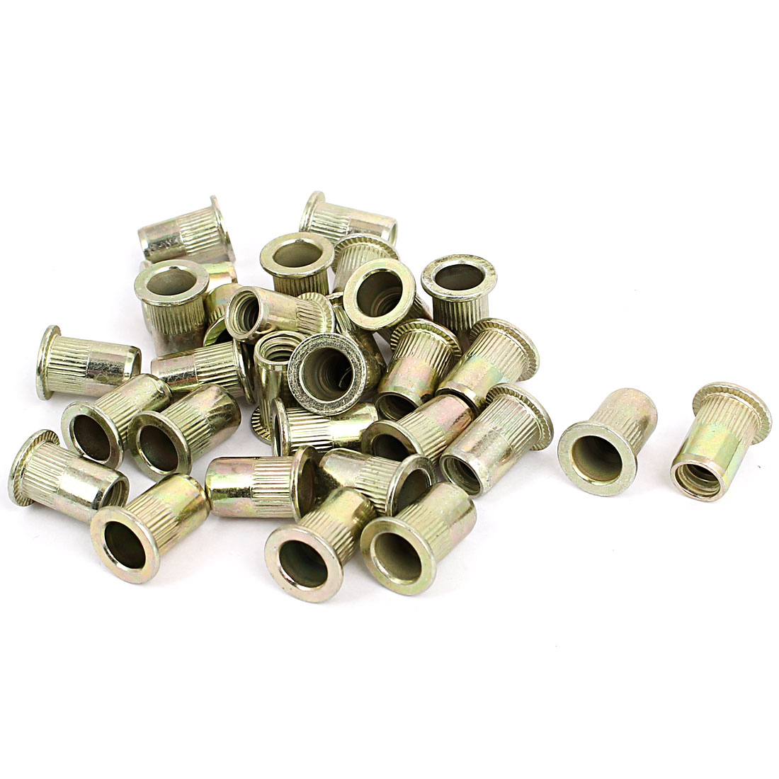"5/16"" Thread 18mm Long Rivet Nut Insert Nutsert 30pcs"