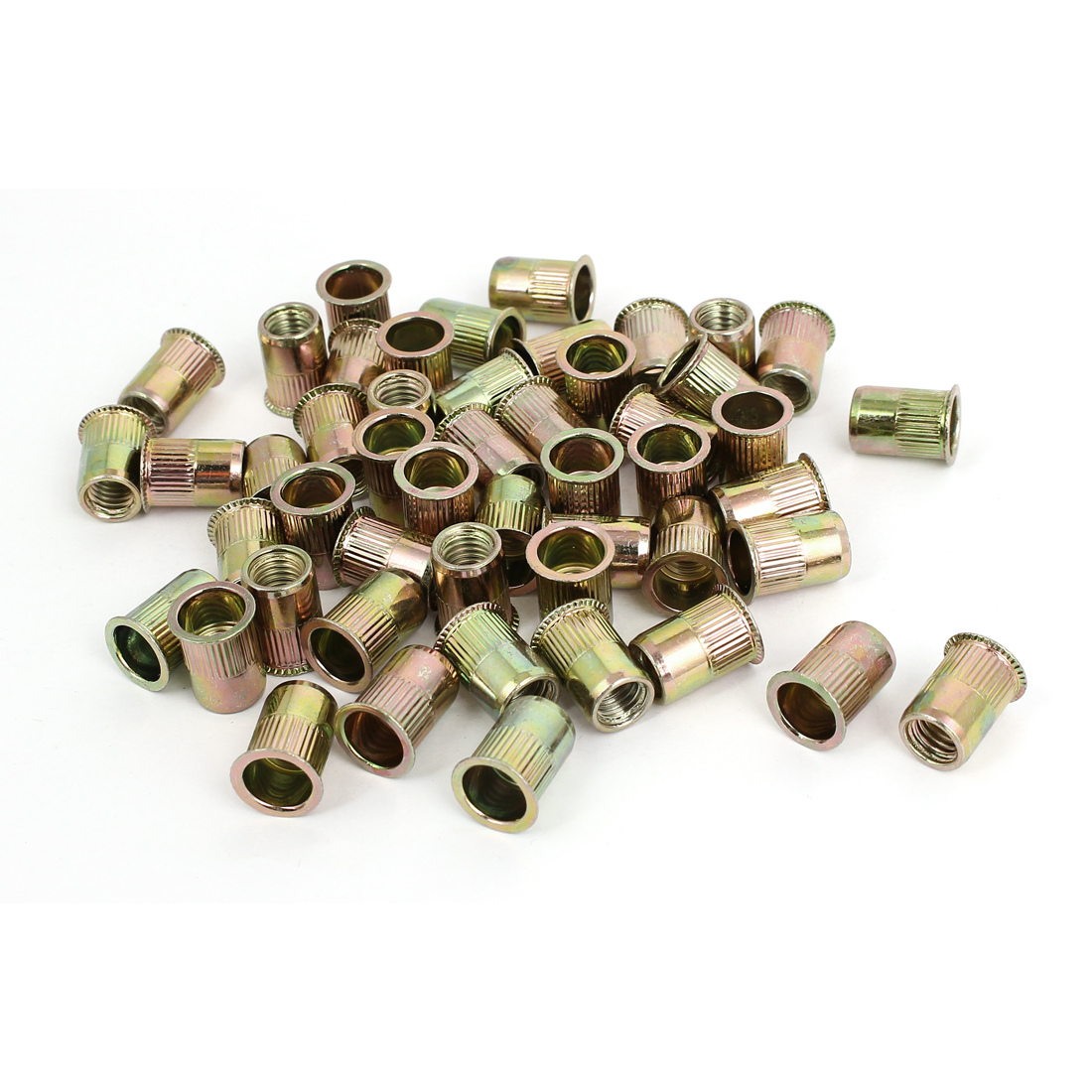 M8 Thread 16mm Long Rivet Nut Insert Nutsert 50pcs