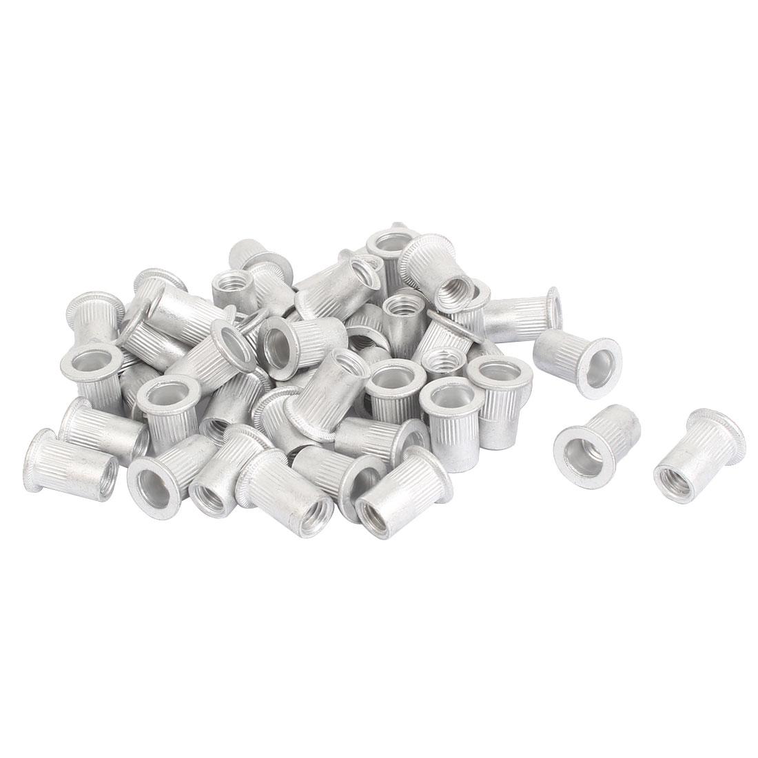 M8 Thread Aluminum Rivet Nut Insert Nutsert 50pcs