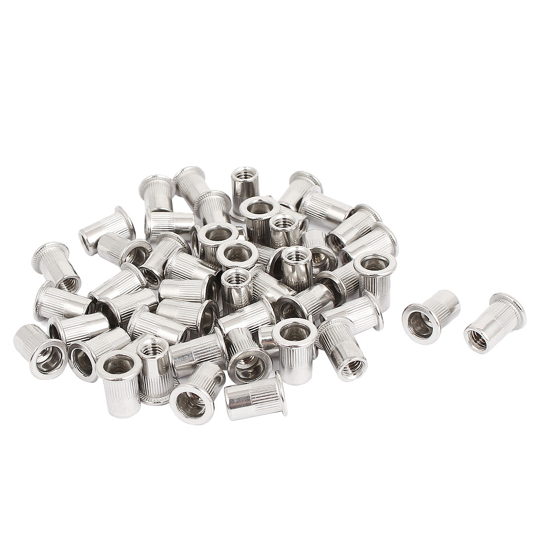 M6 Thread 304 Stainless Steel Rivet Nut Insert Nutsert 50pcs