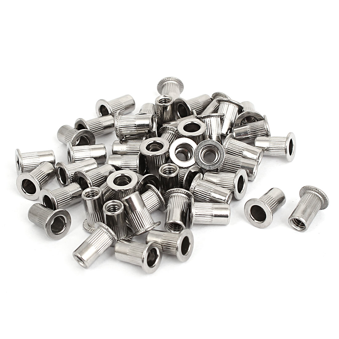 M4 Thread 304 Stainless Steel Rivet Nut Insert Nutsert 50pcs