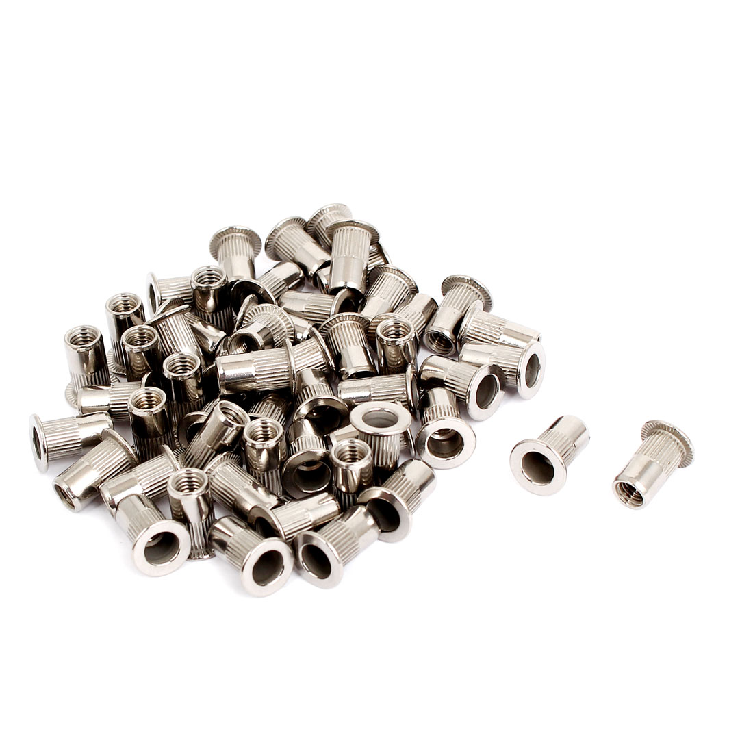 M5 Thread 304 Stainless Steel Rivet Nut Insert Nutsert 50pcs