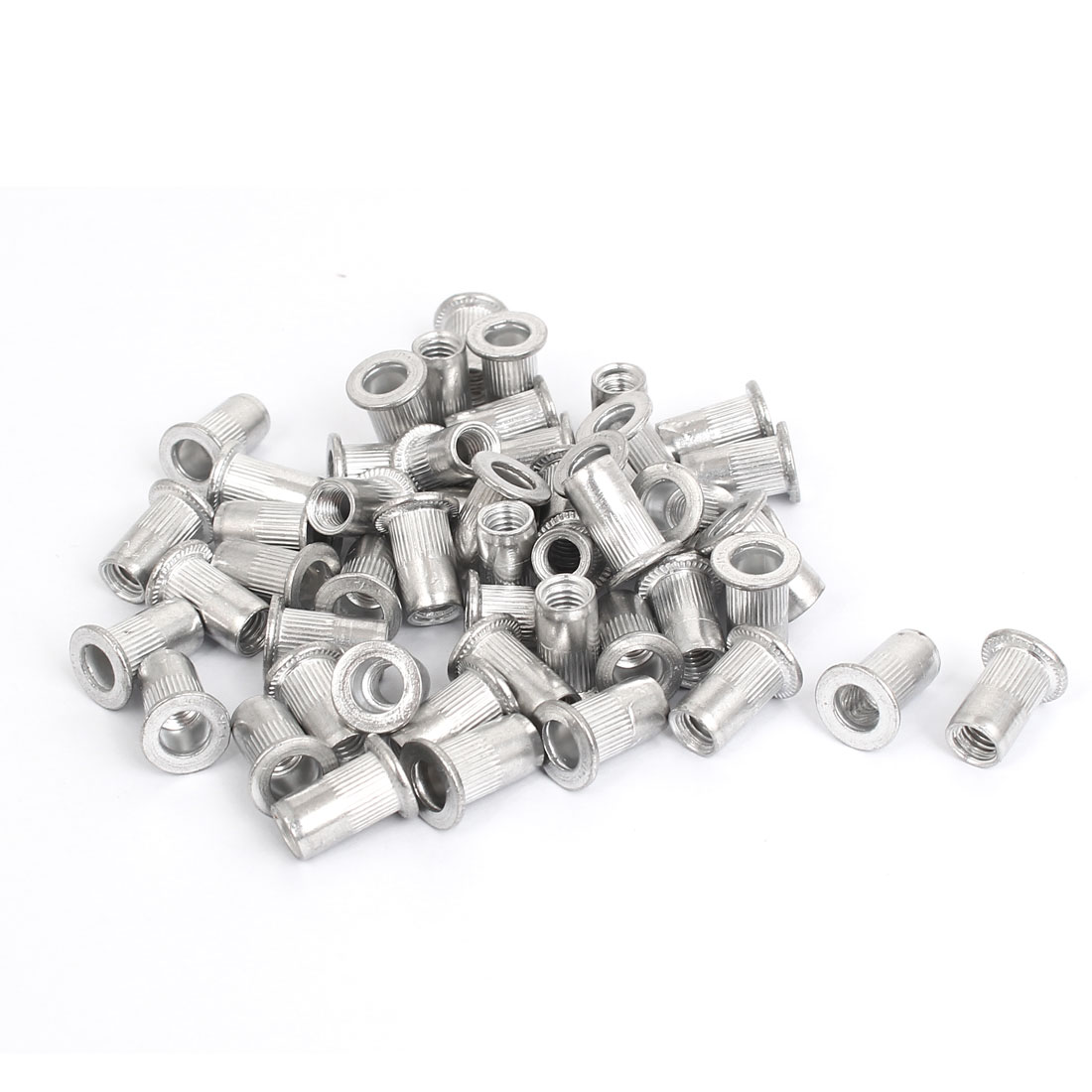 M5 Thread Aluminum Rivet Nut Insert Nutsert 50pcs