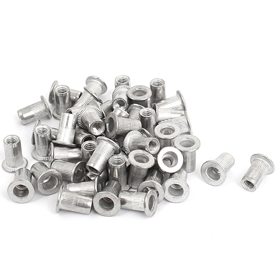 M4 Thread Aluminum Rivet Nut Insert Nutsert 50pcs